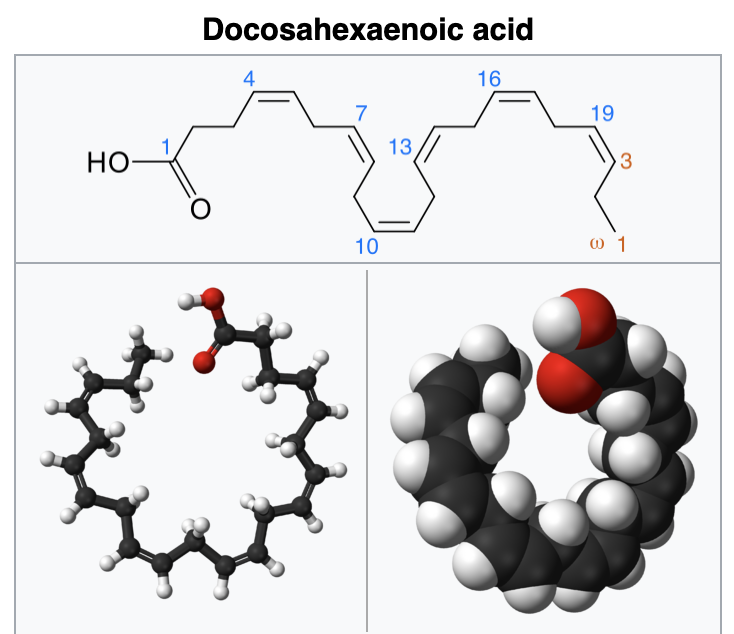 Docosahexaenoic Acid Chemical Structure